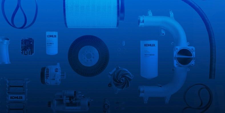 Serviceparts und Ersatzteile für KOHLER Stromerzeuger